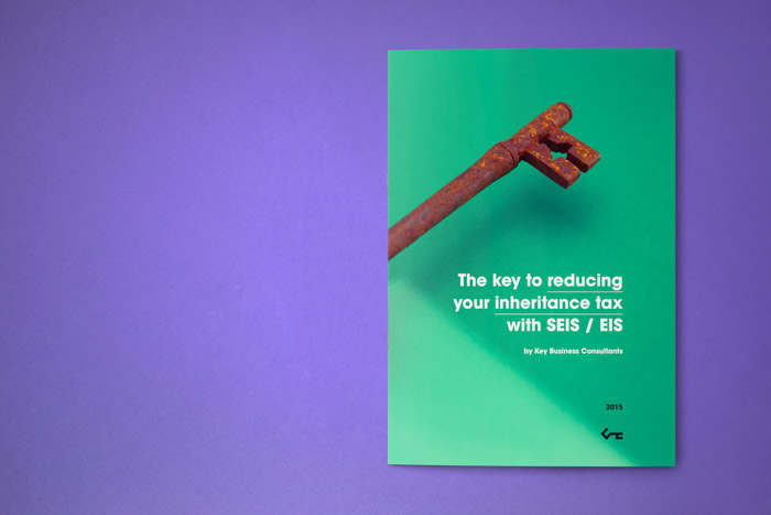 Cover of an inheritance tax focused booklet by Key Business Consultants.